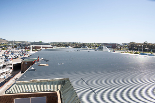 Approaching the final outcome of Tygervalley re-roofing Project
