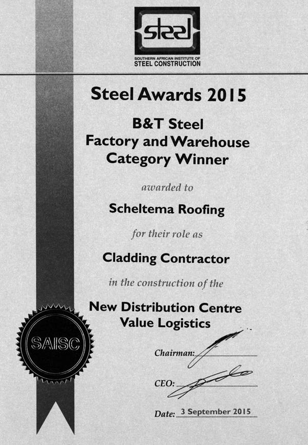 scheltema-steel-award